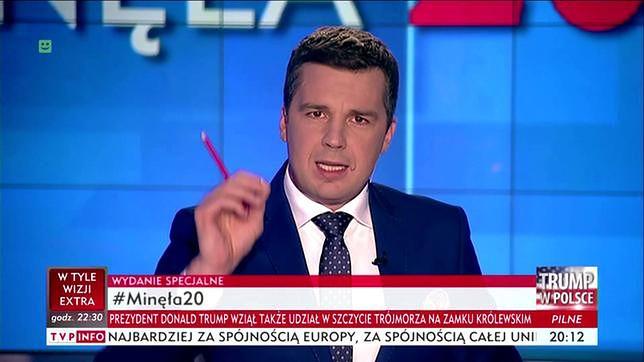 """Stowarzyszenie dziennikarskie broni zaatakowanego Michała Rachonia. """"Jaskrawe naruszenie zasady wolności słowa"""""""
