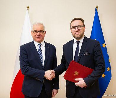 Nominację wręczył Cichockiemu szef MSZ Jacek Czaputowicz