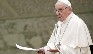 Mocny przekaz papieża