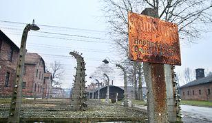 Wichura uszkodziła wieże w Auschwitz