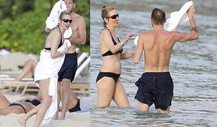 Uma Thurman w bikini. 46-letnia aktorka znów zakochana?