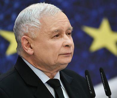 Prezes PiS Jarosław Kaczyński na konwencji regionalnej Prawa i Sprawiedliwości na Politechnice Gdańskiej. 30 Marca 2019 roku.