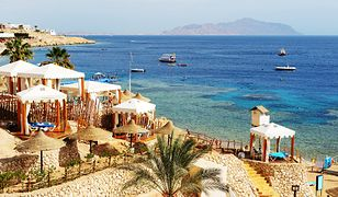 Plaża w Sharm El Sheikh, Egipt