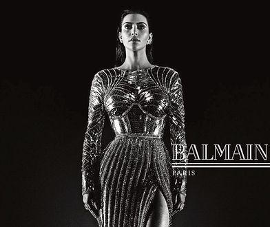 Kim Kardashian gwiazdą najnowszej kampanii Balmain