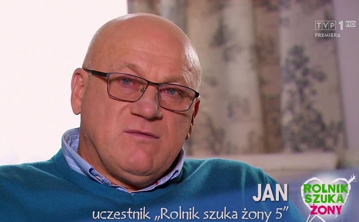 """""""Rolnik szuka żony"""": smutny Jan podczas świątecznego odcinka. Może to był błąd?"""