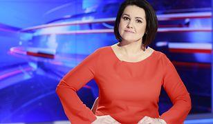 """Edyta Lewandowska prowadzi """"Wiadomości"""". Niewielu wie, kto jest ojcem jej dziecka"""