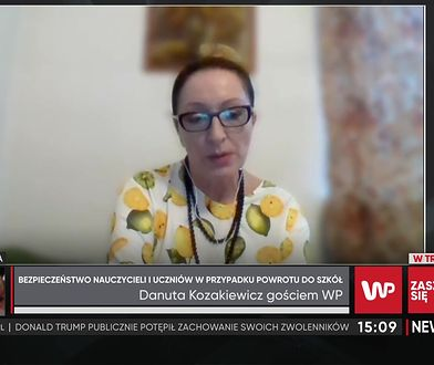 Danuta Kozakiewicz o powrocie do nauki stacjonarnej. Pedagog dzieli się swoim pomysłem