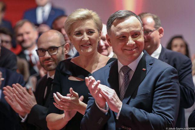 Agata Kornhauser-Duda i Andrzej Duda w Bredzie