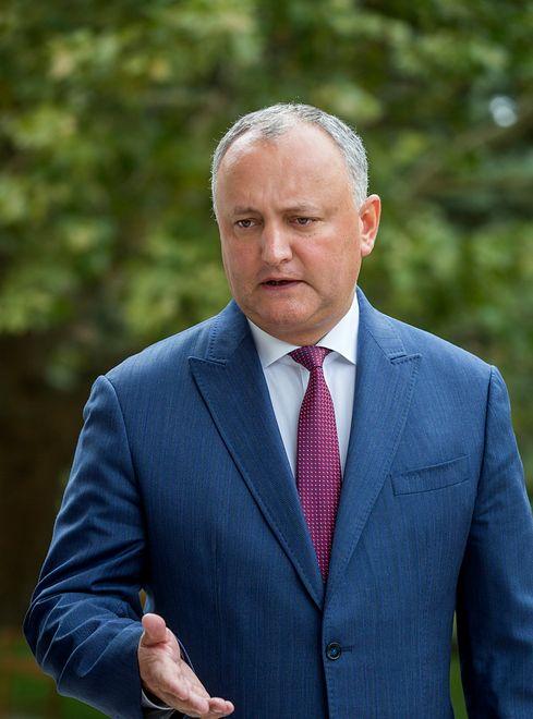 Prezydent Mołdawii ranny w wypadku samochodowym
