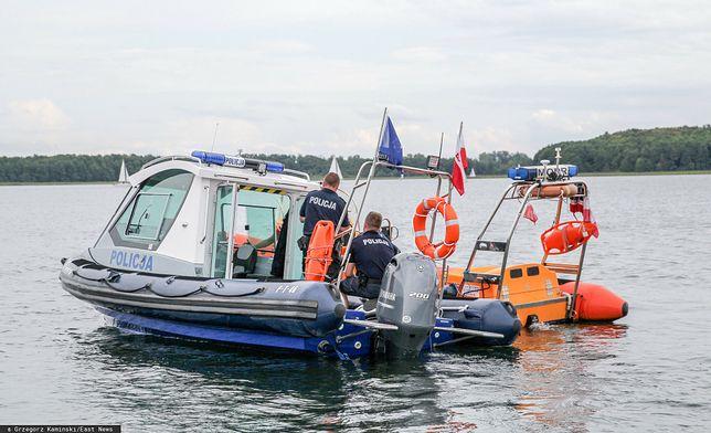 Na jeziorze w Krzyni zaginęły cztery osoby, trwają poszukiwania/ Zdjęcie ilustracyjne