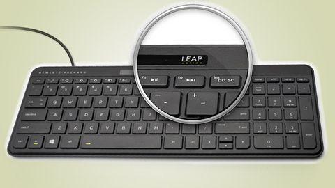 Klawiatura HP z Leap Motion wchodzi na rynek