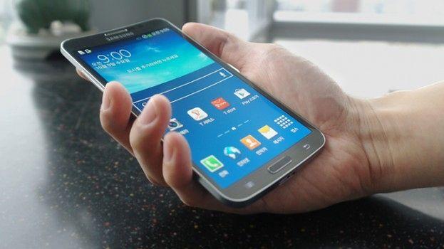 Wykrzywiony ekran Samsunga Galaxy Round