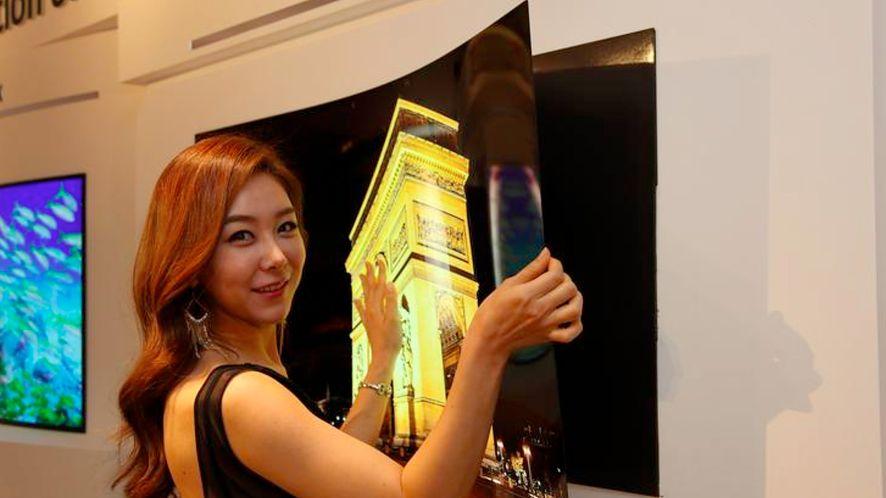 LG szykuje giętkie ekrany grubości 0,97 milimetra