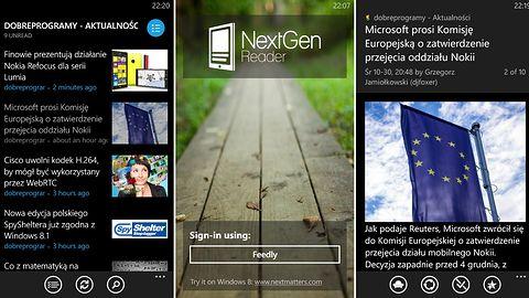 Nextgen Reader na Windows Phone za darmo przez 24 godziny