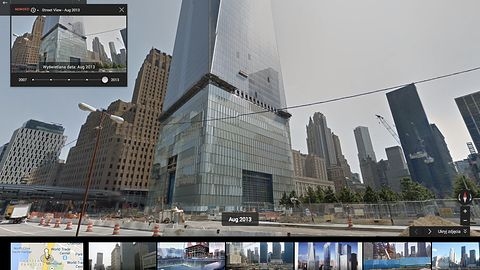 StreetView zabierze nas w przeszłość