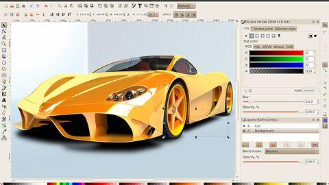 Inkscape 0.91 już z nowym silnikiem renderowania