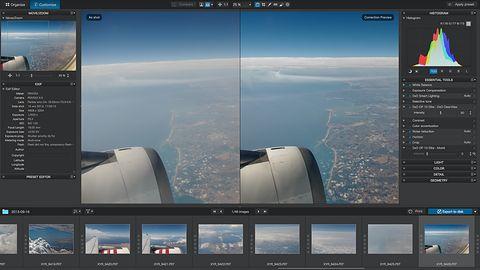 DxO OpticsPro 10 oczyści niebo i przegoni mgłę