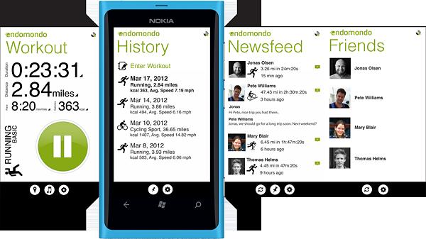 Aktualizacja Endomondo dla Windows Phone już w drodze, poszukiwani testerzy