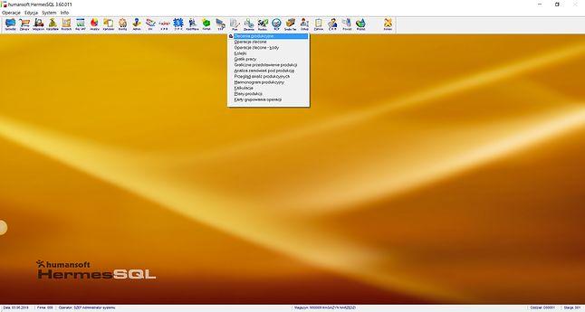 HermesSQL – plan produkcji.