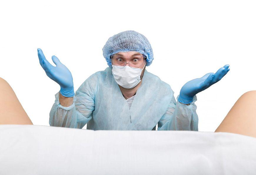 Brak rozmowy z pacjentką u ginekologa