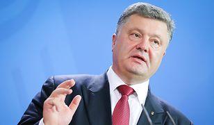 """Petro Poroszenko nazwał umowę """"anachroniczną"""""""