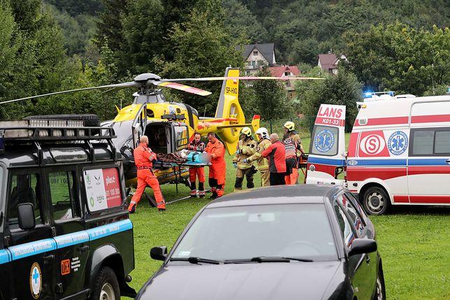 Akcja ratunkowa w Tatrach trwa. Prokuratura przygotowuje się do wszczęcia śledztwa