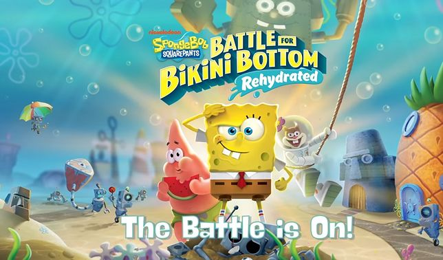 SpongeBob SquarePants: Battle for Bikini Bottom - Rehydrated. Nowy zwiastun trafił do sieci