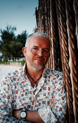Wojtek Żabiński na Zanzibarze mieszka już prawie 5 lat