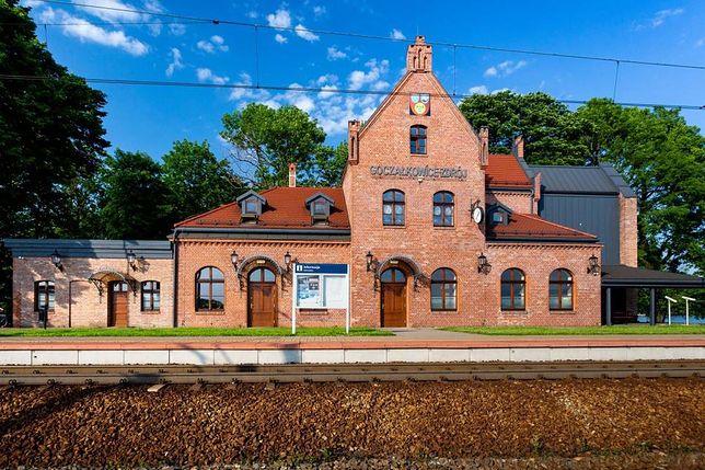 Dworzec w Goczałkowicach-Zdroju