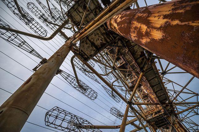 Ruiny elektrowni w Czarnobylu