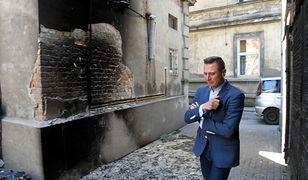 Krzysztof Brejza po pożarze nie wykluczał, że ktoś mógł to zrobić celowo