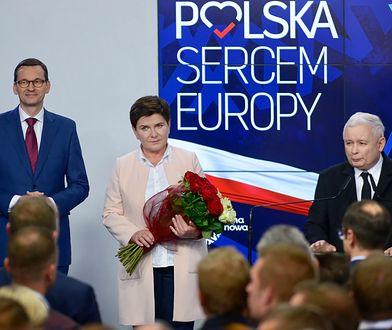 Zjednoczona Prawica wygrywa w badaniu poparcia w wyborach do Sejmu