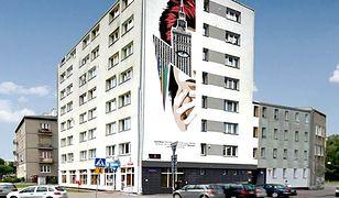 """""""Udało się!"""". Powstaje mural Davida Bowiego w Warszawie"""