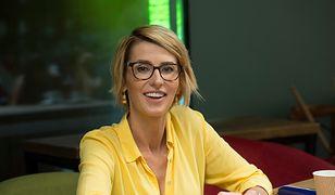 Tatiana Mindewicz-Puacz w oczekiwaniu na nagranie telewizyjnego programu
