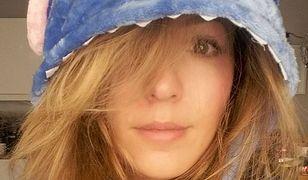 Katarzyna Dacyszyn od wypadku zasłania poparzoną twarz