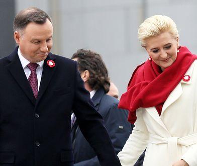 Agata Kornhauser-Duda podczas obchodów Święta Niepodległości 2018