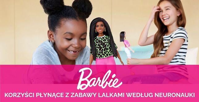 Barbie Mattel - rozwój Twojego dziecka i jego empatii potwierdzone badaniami