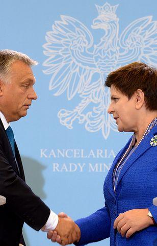 Węgierskie media szeroko komentują spotkanie szefowej polskiego rządu Beaty Szydło z premierem Viktorem Orbanem