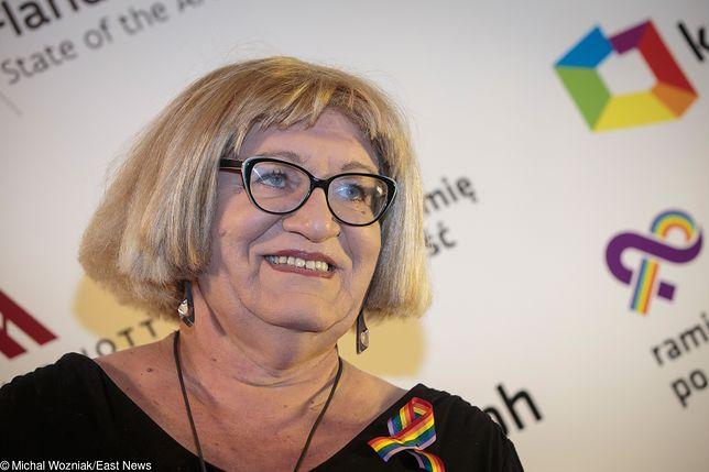 Anna Grodzka jest zaskoczona propozycją MON