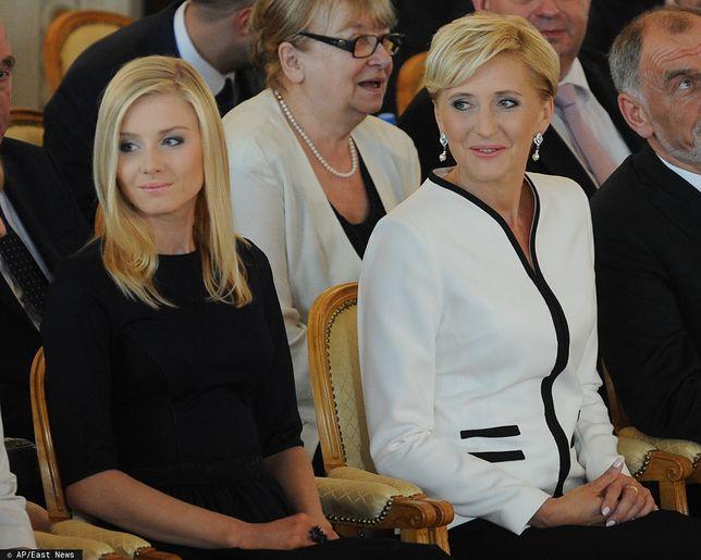 Kinga Duda i Agata Kornhauser-Duda.