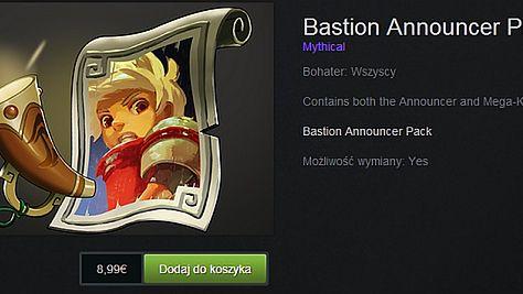 Narrator z Bastionu został komentatorem w DOTA 2