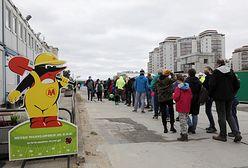 Warszawa. Głód wiedzy o metrze. Tłumy chętnych do zwiedzenia stacji C20 Kondratowicza
