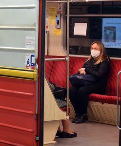 Warszawa. Siwy dym w tunelu metra. Dziesięć stacji zamkniętych