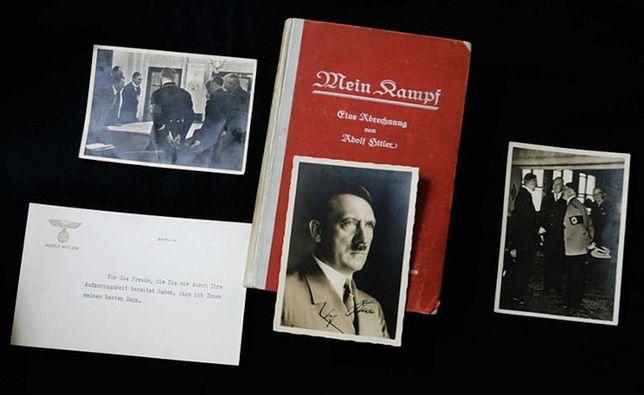 """Bawaria wycofuje się z naukowego wydania """"Mein Kampf"""" Hitlera"""