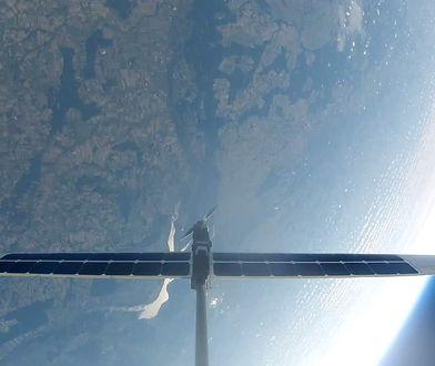 Dron Cloudless konstruktora Piotra Franczaka osiągnął stratosferę.