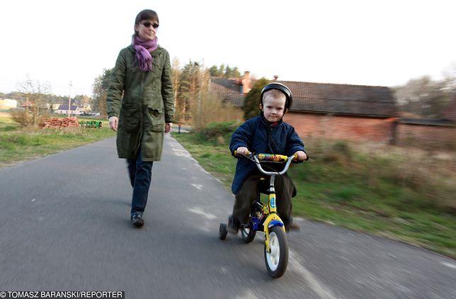 Dzieci będą jeździły w kaskach rowerowych. To już pewne