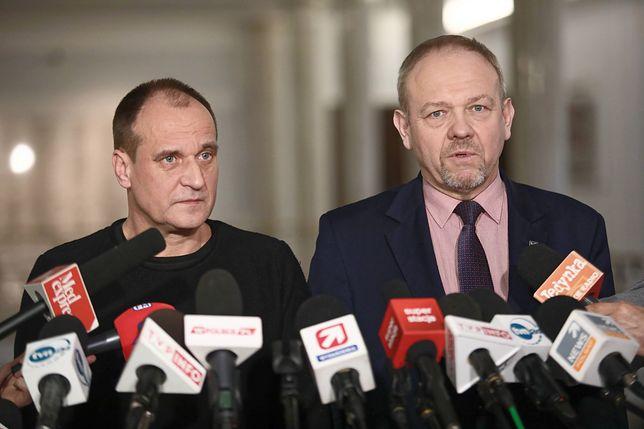 Paweł Kukiz i Jerzy Kozłowski, wiceszef klubu poselskiego Kukiz'15