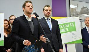Warszawa. Rafał Trzaskowski podczas spotkania z mieszkańcami Wawra, 23 stycznia br.