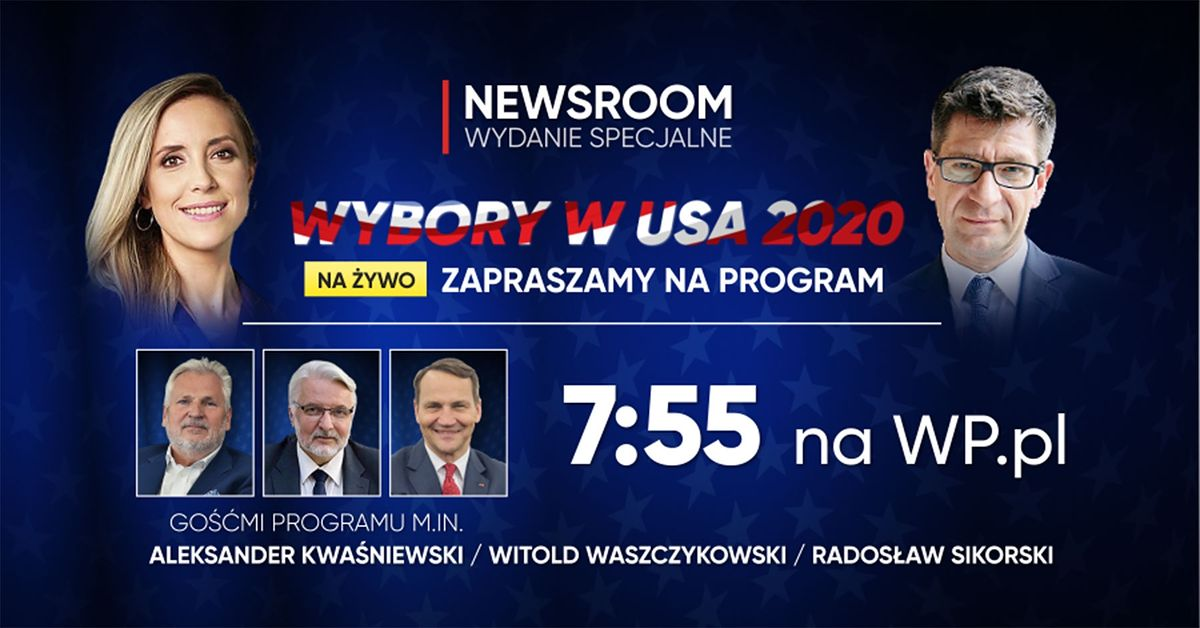 Wybory w USA. Newsroom WP - wydanie specjalne