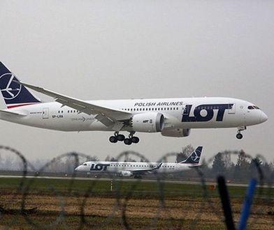 Dreamliner awaryjnie lądował w Islandii. Leciał z Warszawy do Nowego Jorku